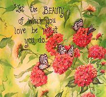 BEAUTY IS... by sandralett