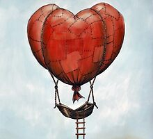Valentine Balloon by Anton Van Dort