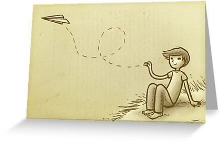 Paperplane by Ine Spee