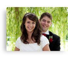Mr & Mrs Taylor Canvas Print