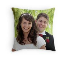 Mr & Mrs Taylor Throw Pillow