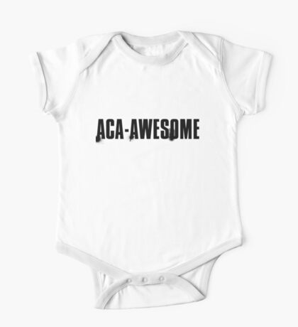 aca-awesome One Piece - Short Sleeve