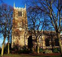 Loughborough Parish Church by Yhun Suarez