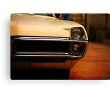 cool classic car detail Canvas Print