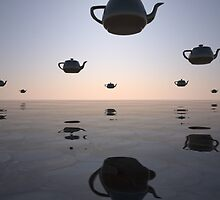 UFTs (unidentified flying teapots) by Lawrence Alfred Powell