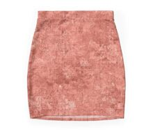 Terra Cotta Oil Painting Color Accent Pencil Skirt