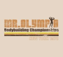 Mr. Olympia 1970 by superiorgraphix
