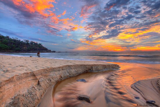 Sunrise at Sunshine Beach by Adam Gormley