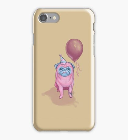 Party pug iPhone Case/Skin