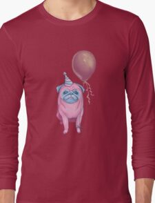 Party pug Long Sleeve T-Shirt