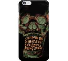 Reflektor skull iPhone Case/Skin
