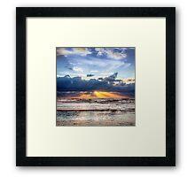 Beautiful Dutch Summer Sunset Framed Print