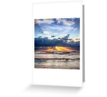 Beautiful Dutch Summer Sunset Greeting Card