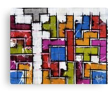 Life as Tetris Canvas Print