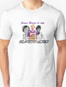 James Bourne Is My Superhero Unisex T-Shirt