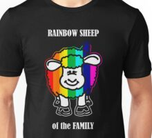 Rainbow Sheep of the Family Unisex T-Shirt