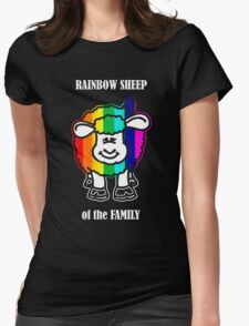 Rainbow Sheep of the Family Womens Fitted T-Shirt