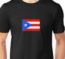 Puerto Rico Flag Baseball World Cup - Nuyorican Sticker Unisex T-Shirt