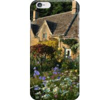 Ancient Cotswold Cottages at Bibury. iPhone Case/Skin