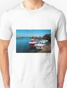 Penzance Fishing Harbour, Cornwall. T-Shirt