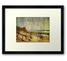 Postcards From Home Framed Print