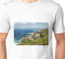 Cornish Coast from Trewellard towards Pendeen Unisex T-Shirt