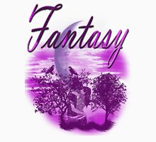 Fantasy love/  Art + Products Design  Womens Fitted T-Shirt