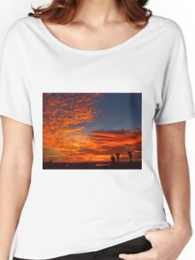 November Sunset Women's Relaxed Fit T-Shirt
