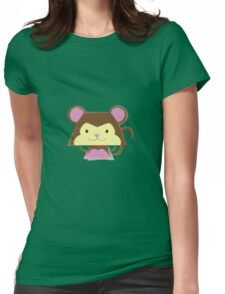 Mimalitos - Monkey Womens Fitted T-Shirt