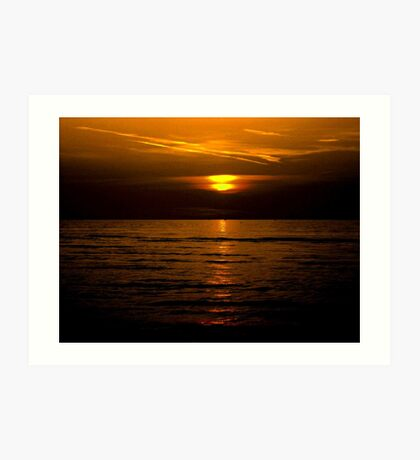 Wasaga beach sunset!... Art Print