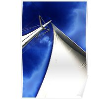 Masts up! - Darwin Harbour Poster
