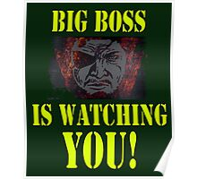 BIG BOSS IS WATCHING YOU Poster