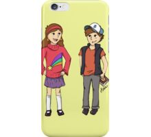 The Mystery Twins iPhone Case/Skin