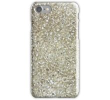 Silver Rocaille Seed Beads  iPhone Case/Skin