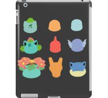 Kanto Starters iPad Case/Skin