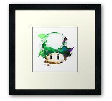 Watercolor 1-Up Mushroom Framed Print
