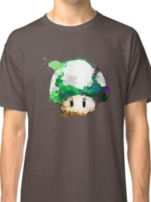 Watercolor 1-Up Mushroom Classic T-Shirt