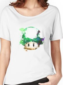 Watercolor 1-Up Mushroom Women's Relaxed Fit T-Shirt