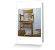 Upstairs Downstairs Greeting Card