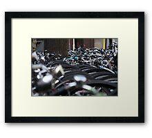 Bikes of Amsterdam Framed Print