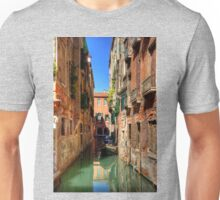 A canal in Sestiere di San Polo Unisex T-Shirt