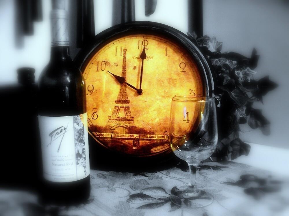 Wine by the Tour Eiffel ~  Eiffel Tower by fiat777