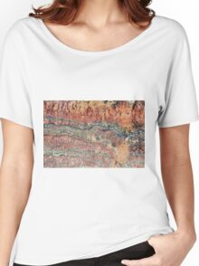 Fossilized Stromatolites Women's Relaxed Fit T-Shirt