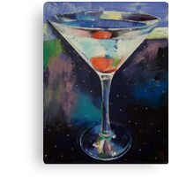 Bombay Sapphire Martini Canvas Print