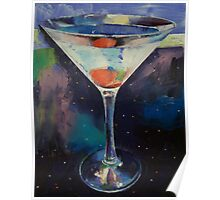 Bombay Sapphire Martini Poster