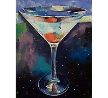 Bombay Sapphire Martini Photographic Print