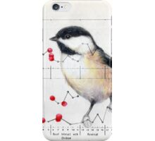 Chickadee and Berries iPhone Case/Skin