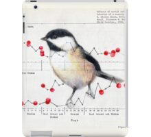 Chickadee and Berries iPad Case/Skin