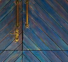 Brass and blue by Erika Gouws