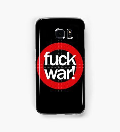 Fuck War Samsung Galaxy Case/Skin
